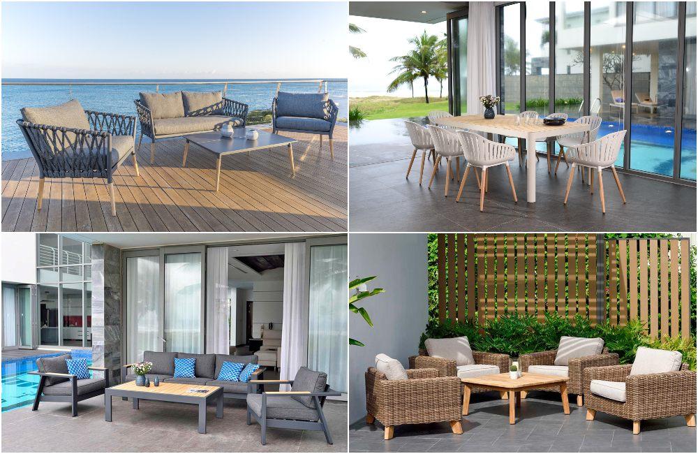 Muebles para terraza y jardín de Teca LifestyleGarden