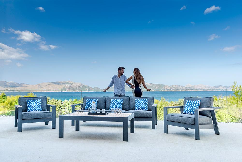 Una nueva marca de muebles para terraza y jardín en Mallorca