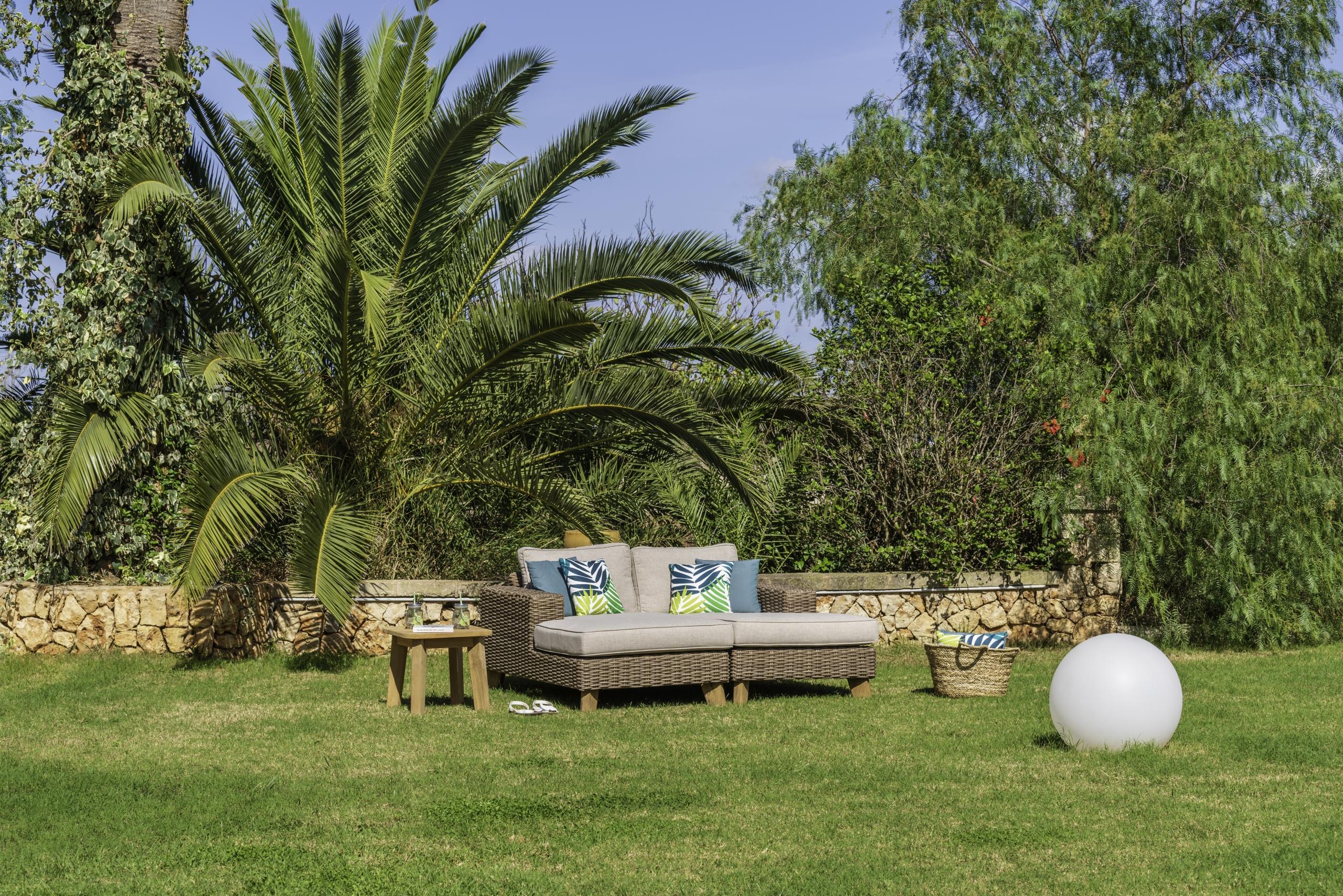 Muebles terraza con un toque de artesanía, colección Martinique