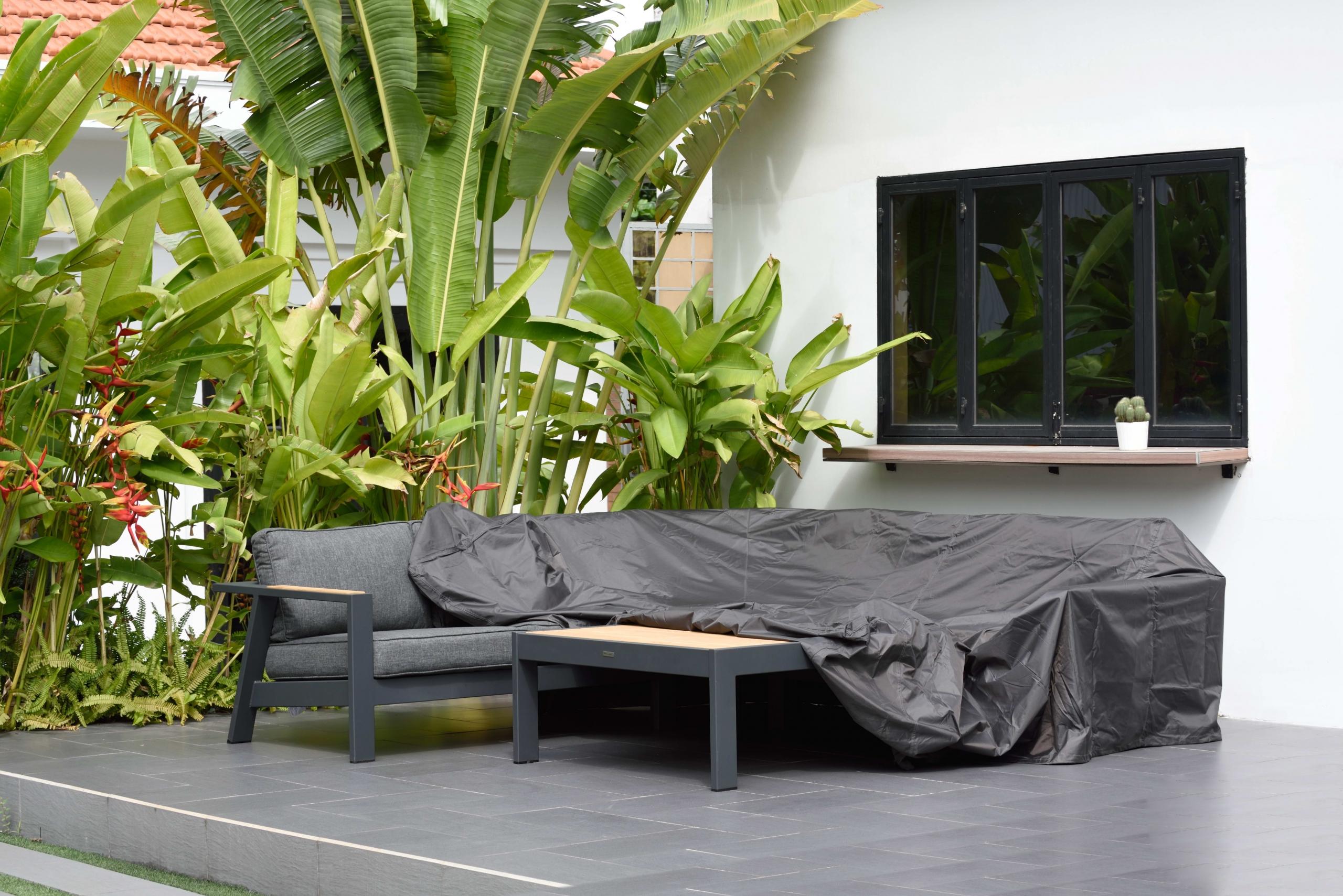Protección para muebles de jardín