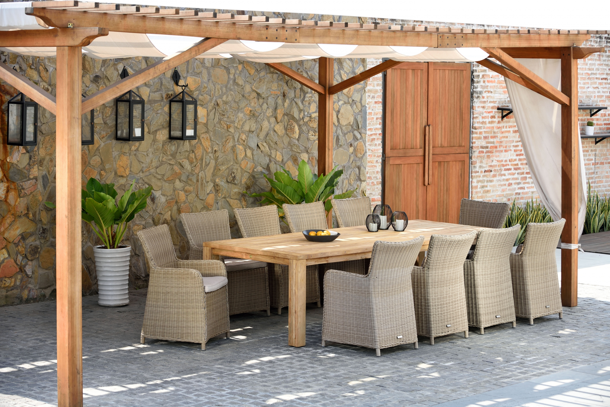 ¿Dónde comprar muebles para terraza y jardín?