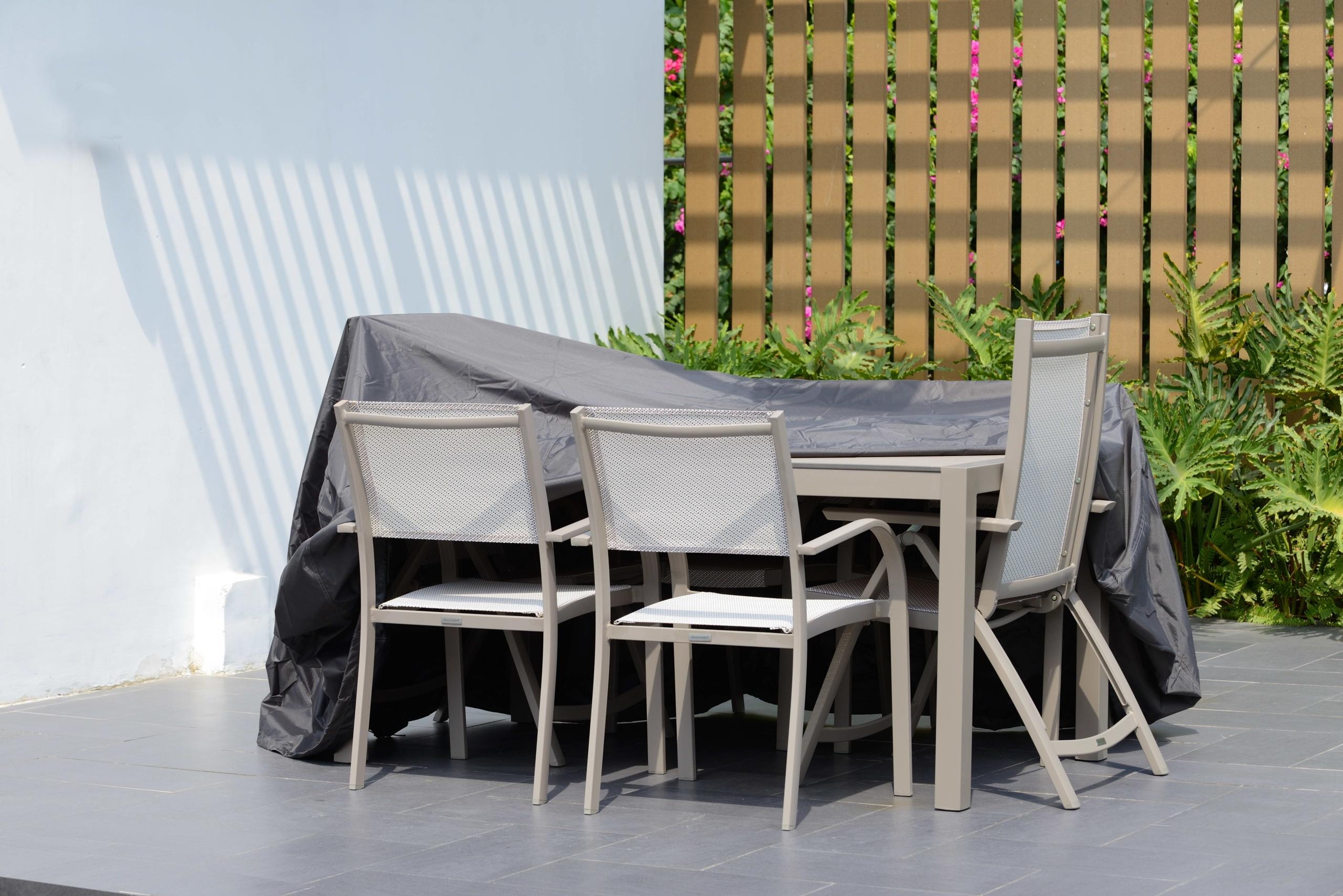 Protección para los muebles de jardín