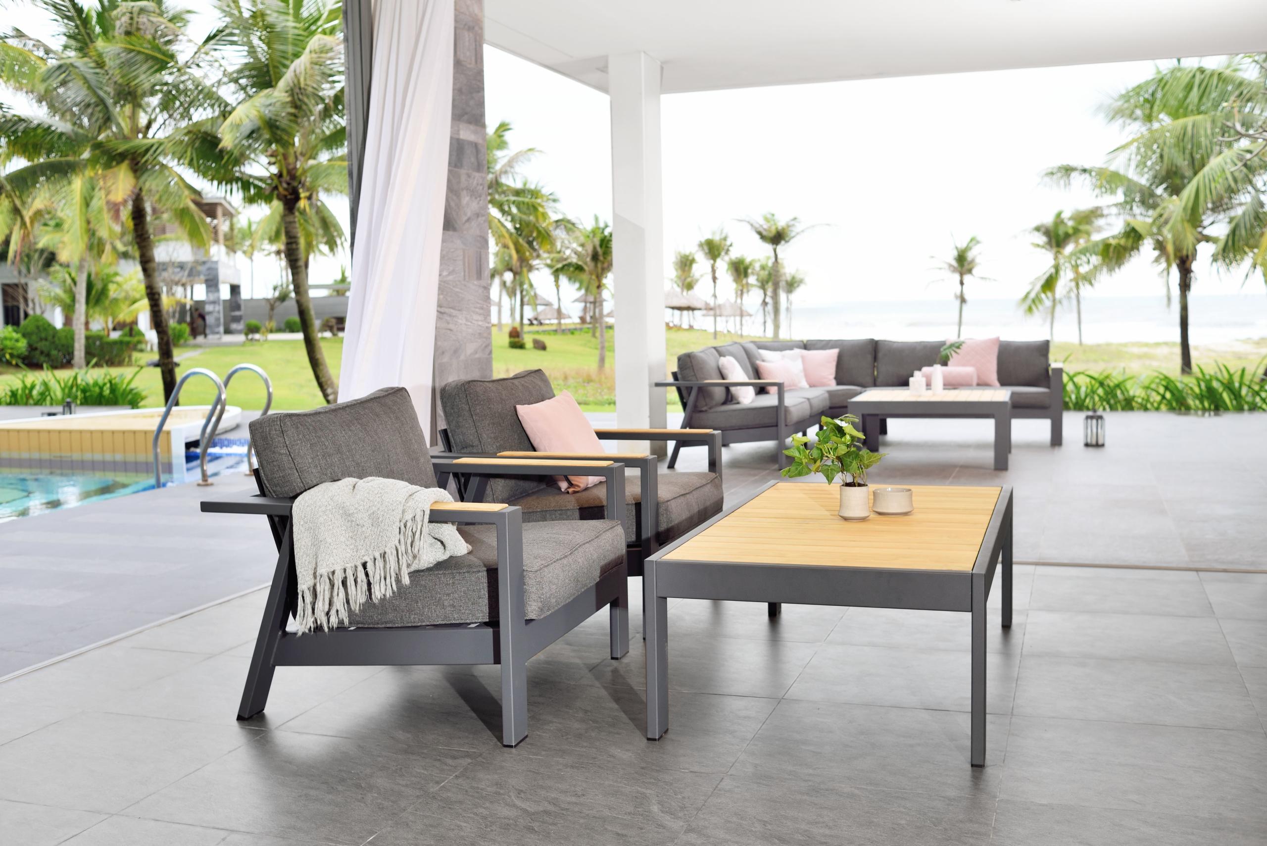 Muebles de exterior para terraza: tendencias 2021